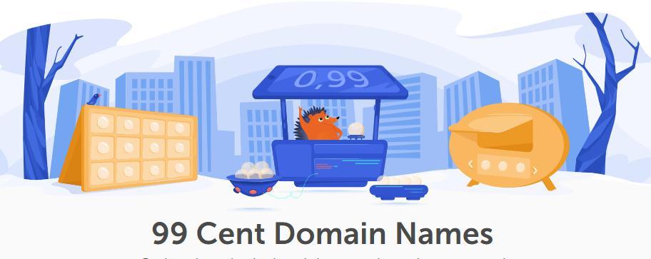 namecheap域名优惠低至0.99美元域名