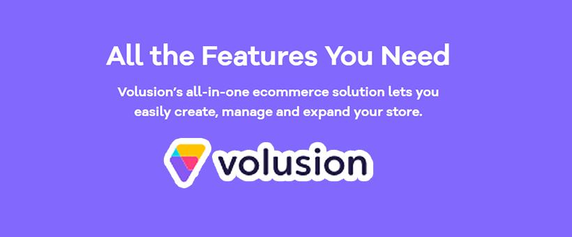 Volusion:一家在线创建端对端电子商务商店平台