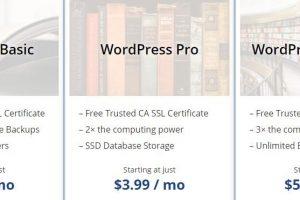 WebHostingPad WordPress主机方案