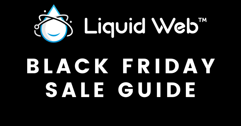 Liquid Web黑五活动