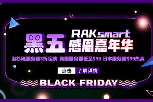 RAKsmart美国服务器黑五活动