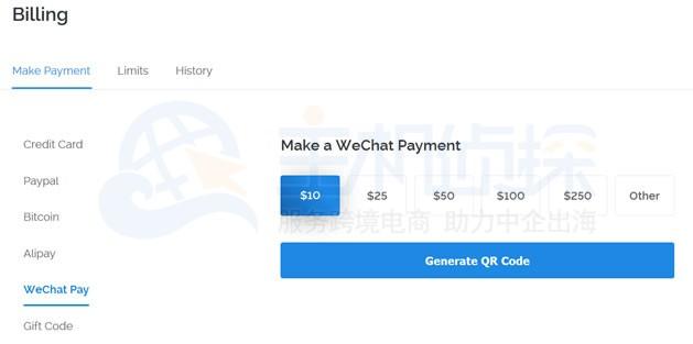 Vultr VPS支付方式