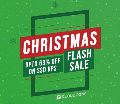 CloudCone圣诞节促销活动