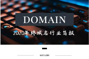 域名行业简报