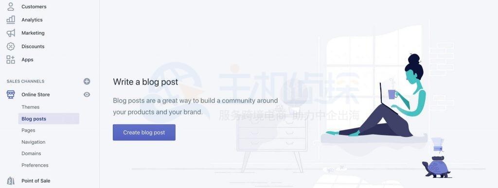 创建博客内容