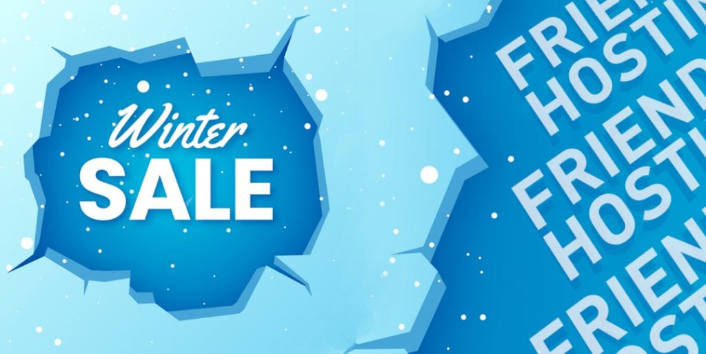 FriendHosting冬季销售