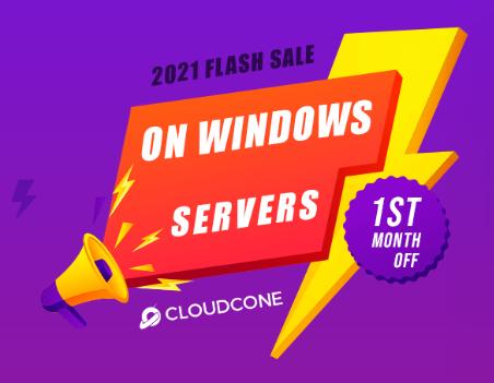 美国主机商CloudCone新年活动
