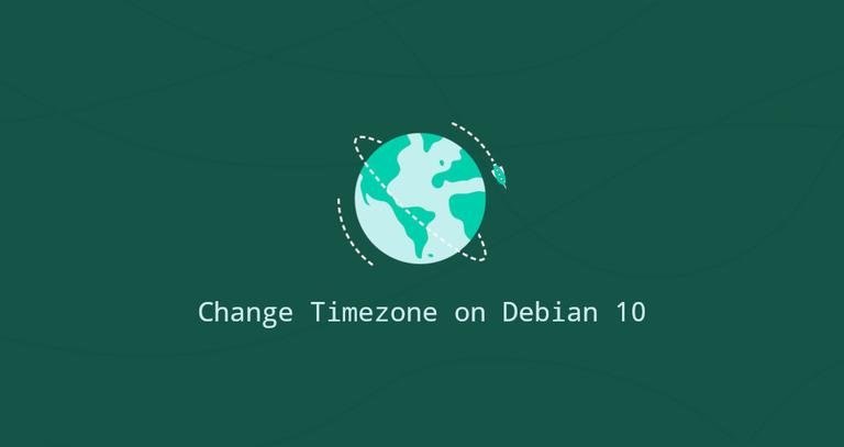 Debian 10设置和更改时区教程
