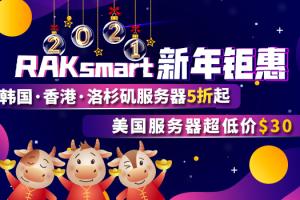 RAKsmart美国服务器新年活动