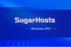 sugarhosts美国Windows VPS