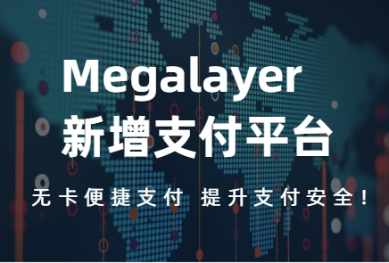 megalayer新增支付平台