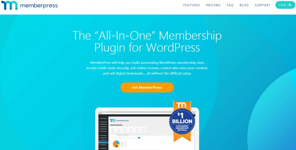 WordPress用户注册表单插件推荐-MemberPress