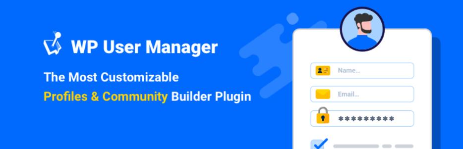 WordPress用户注册表单插件推荐-WP User Manager