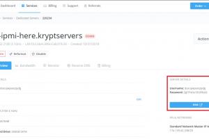 KVM支持的服务器