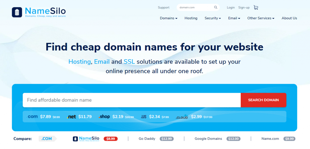 NameSilo域名注册商