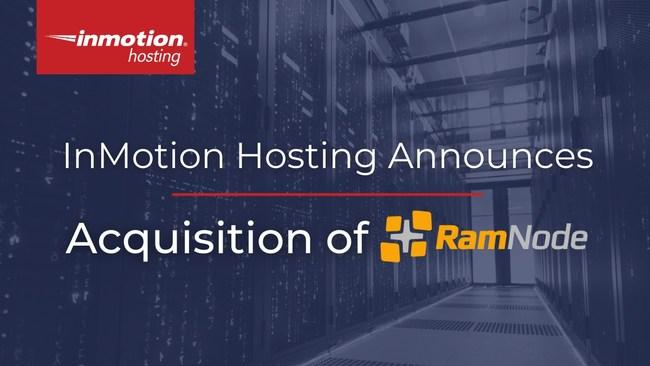 美国主机商InMotionHosting宣布收购RamNode