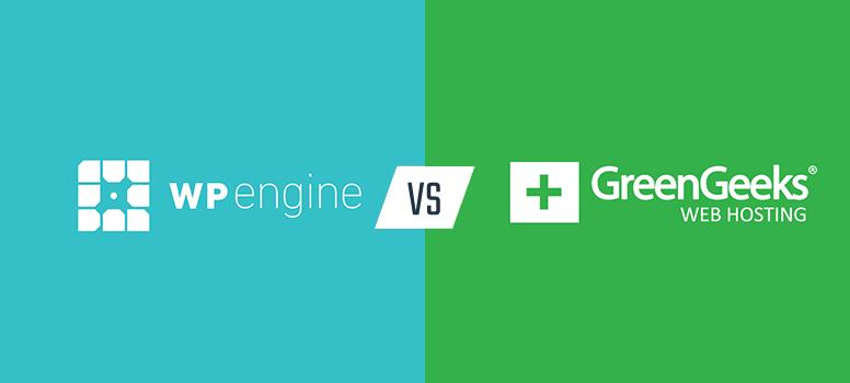 美国主机GreenGeeks和WP Engine对比