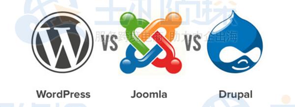 WordPress、Joomla、Drupal对比