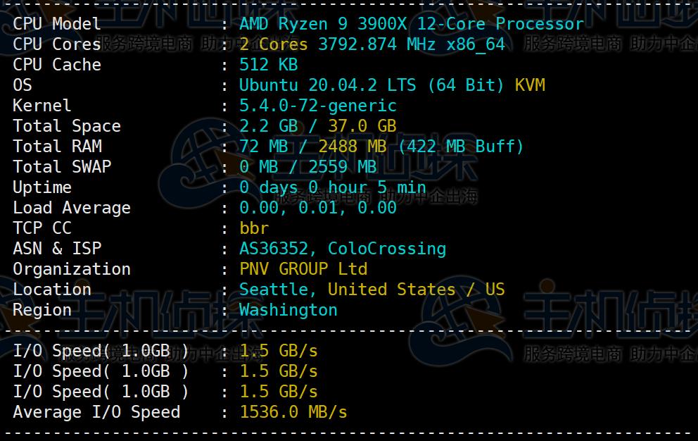RackNerd AMD Ryzen VPS