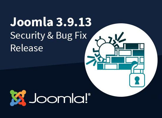 Joomla 3.9.13版本