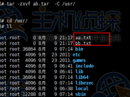 Linux常用命令示例