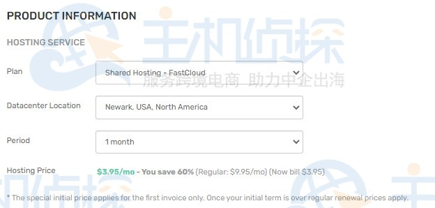 FastComet共享主机春季促销 限时享四折优惠