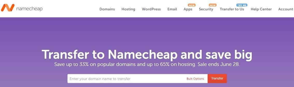 Namecheap优惠码