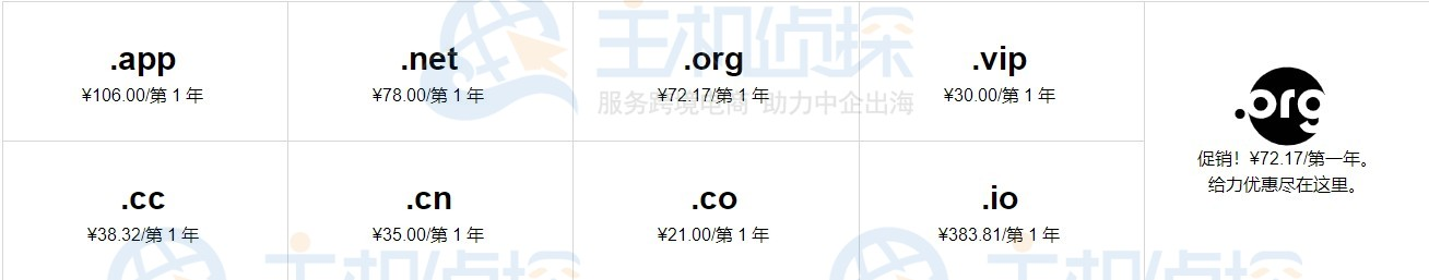 GoDaddy域名注册