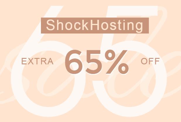 shockhosting优惠