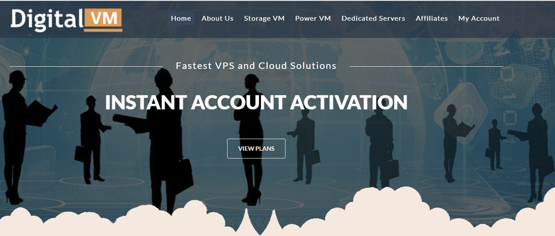 Digital-VM大带宽VPS