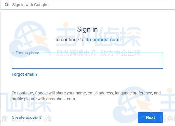 dreamhost账户注册