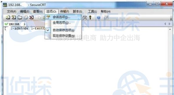 SecureCRT中文乱码解决方法