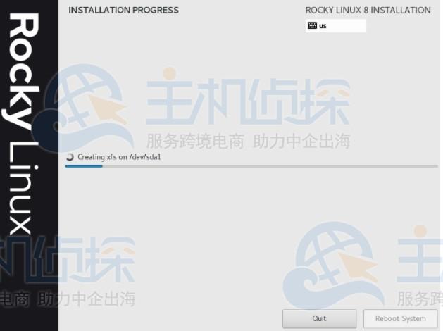 Rocky Linux 8安装