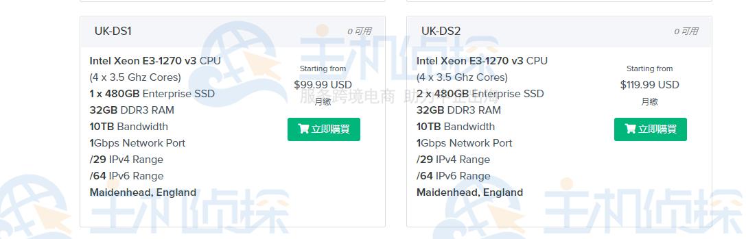 ShockHosting英国服务器SSD固态硬盘