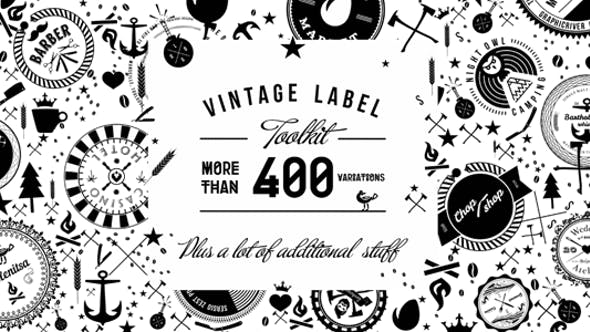 Vintage Label Toolkit