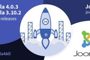 Joomla 4.0.3和Joomla 3.10.2