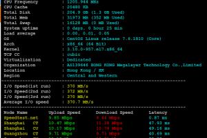 Megalayer菲律宾服务器CPU和I/O读写